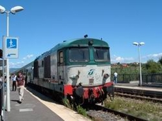 Zugfahren Italien