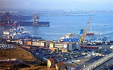 Fährhafen von Piombino
