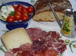 Küche der Toskana